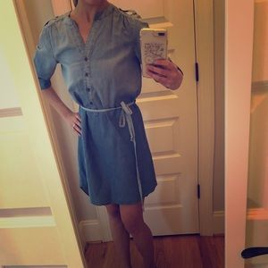 Dresses & Skirts - High low denim dress